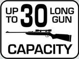 Capacity: 30 Long Gun