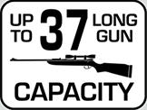 Capacity: 37 Long Gun