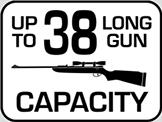 Capacity: 38 Long Gun