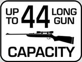 Capacity: 44 Long Gun