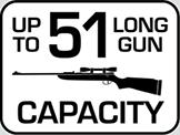 Capacity: 51 Long Gun