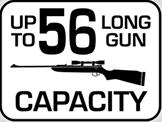 Capacity: 56 Long Gun