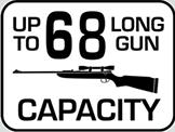 Capacity: 68 Long Gun