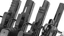 Holds 4 pistols